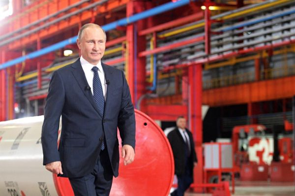 1 место — российский президент Владимир Путин. Он возглавляет рейтинг уже в четвертый раз подряд.