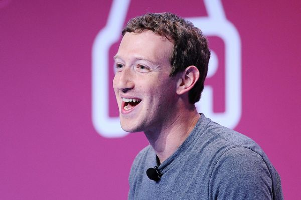 10 место — основатель Facebook Марк Цукерберг.
