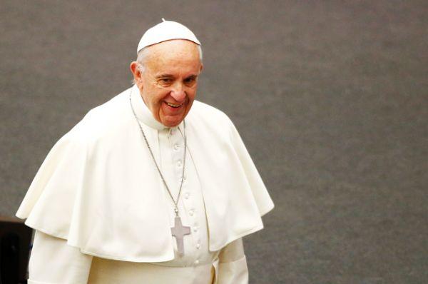 5 место — Папа Римский Франциск.