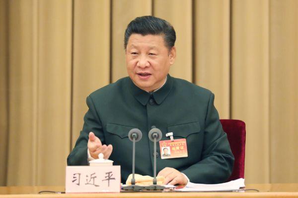 4 место — председатель КНР Си Цзиньпин.