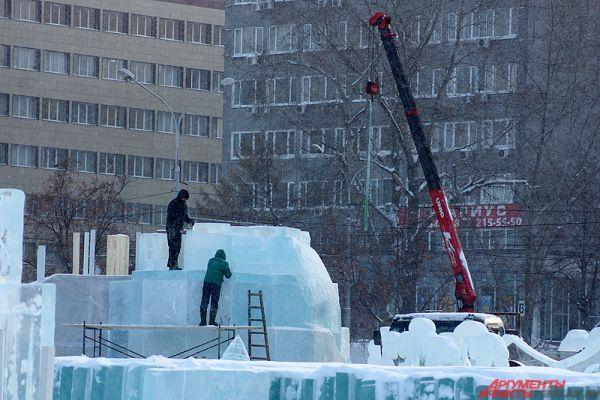 Пермяки увидят город изо льда, в котором «поселятся» редкие животные. А ещё там «вырастут» редкие виды растений.