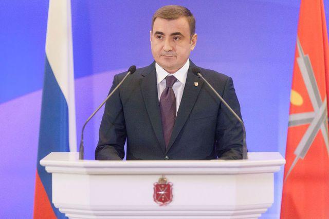 Губернатор области Алексей Дюмин сегодня впервый раз обратится сПосланием