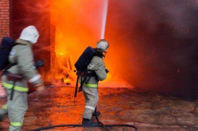 ВСмоленской области при пожаре сгорел человек