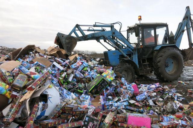 Перед Новым годом в Калининграде уничтожили 9,5 тысяч детских игрушек.