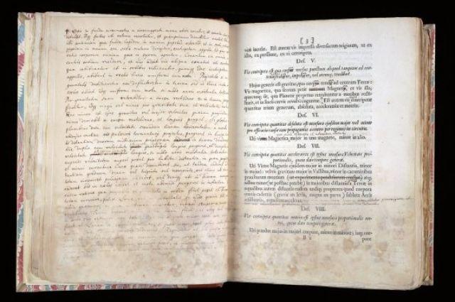 Книжка Исаака Ньютона ушла смолотка практически за 4 млн долларов