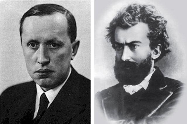 Карел Чапек и Николай Миклухо-Маклай.