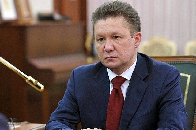 Миллер: Украина может наворовать газ у«Газпрома» на6,6 млрд долларов