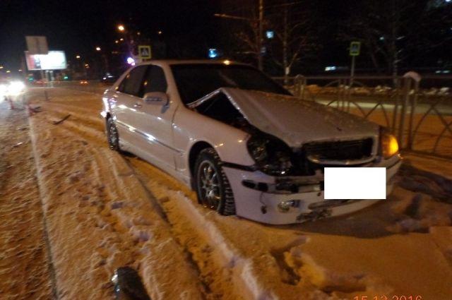 ВСтаврополе девушка пострадала отДТП 2-х машин