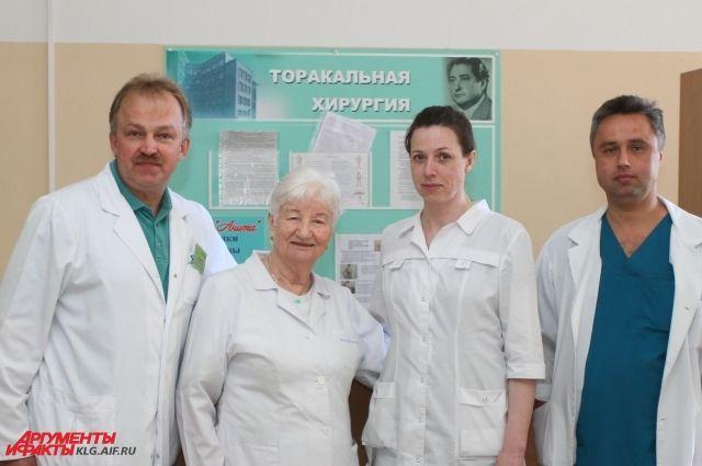 Хирург Валерьян Рутковский назван лучшим врачом Калининградской области.