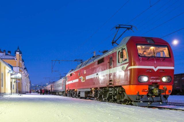 Скорый поезд домчит до Томска за 4,5 часа