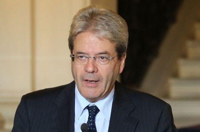 Италия заблокировала продление нагод санкцийЕС против Российской Федерации