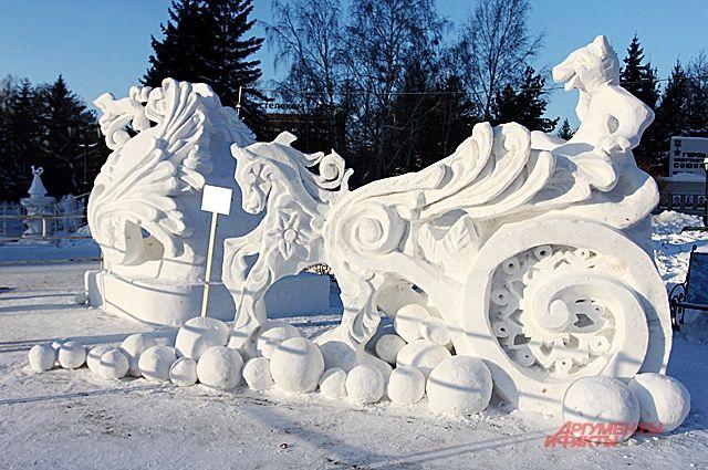 В Новосибирске пройдет традиционный фестиваль снежной скульптуры