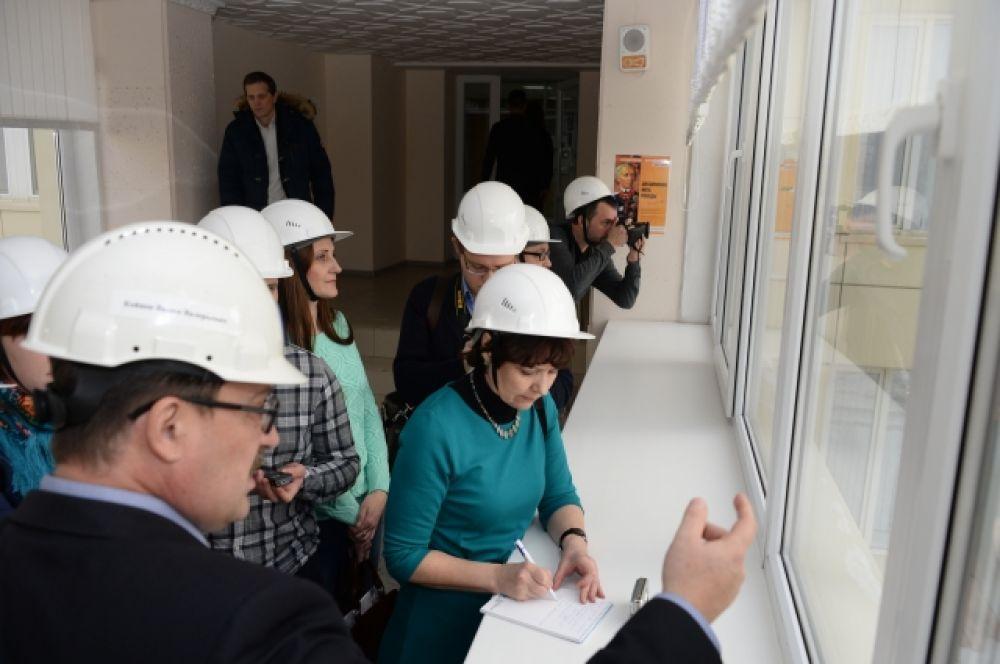 Журналисты донских СМИ побывали с экскурсией на Ростовской атомной станции.