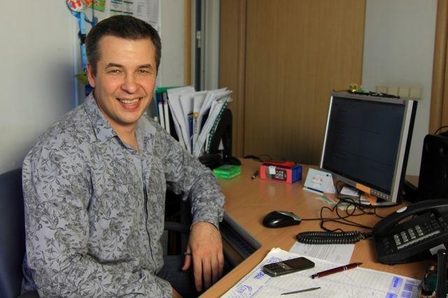 Андрей Фролов - ответственный редактор радиостанции «Business FM Челябинск»