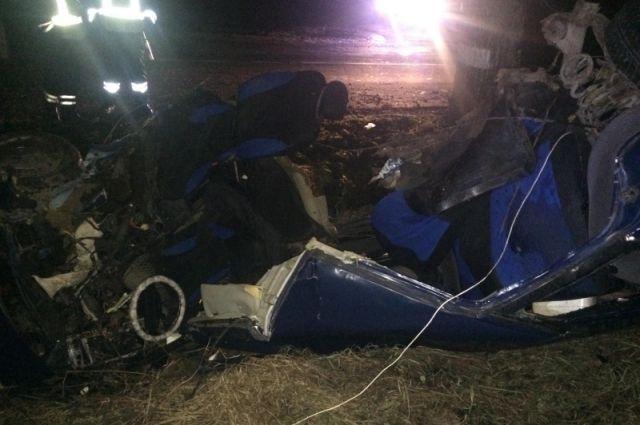 Авто, в котором под Черняховском погибли трое, управлял водитель без прав.