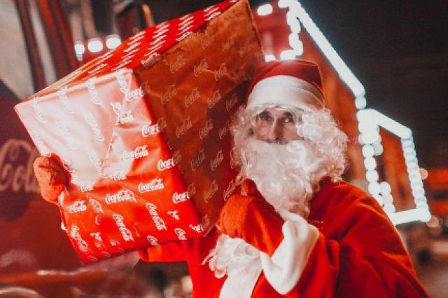 ВИваново приедет «Рождественский караван Coca-Cola»