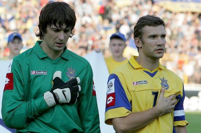 Шовковский и Шевченко