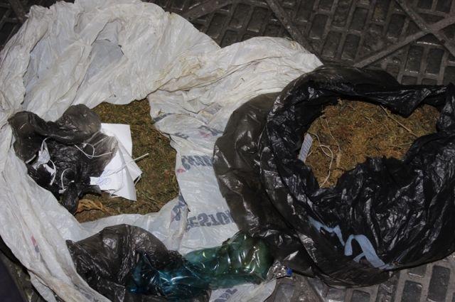 Ужителя Коркино изъяли неменее 1 килограмма марихуаны