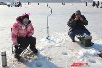 Зимняя рыбалка - небезопасное развлечение