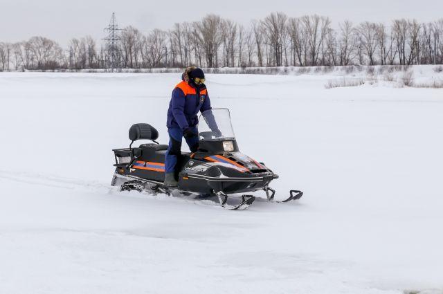 Прогулки на снегоходе могут стать причиной трагедии