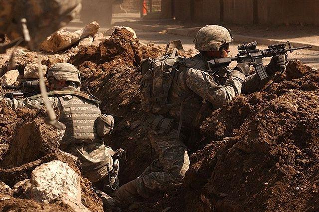Американские солдаты в Багдаде. 7 марта 2007 года.