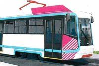 В пассажирском салоне трамвая установлены эргономичные сиденья.