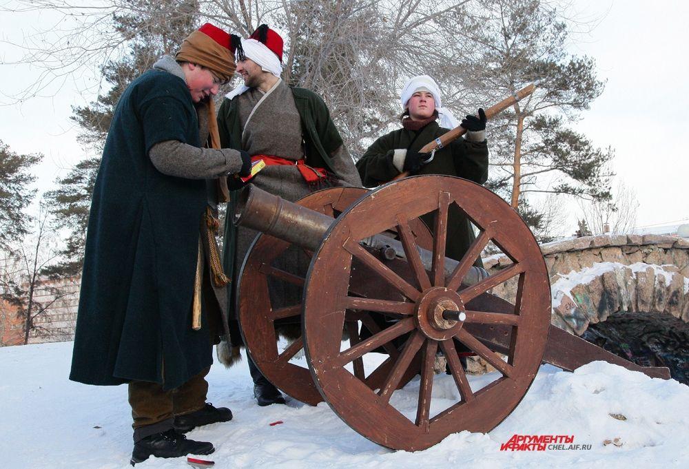 Турецкие артиллеристы