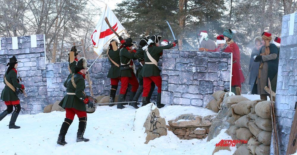 Завершающая атака на крепость