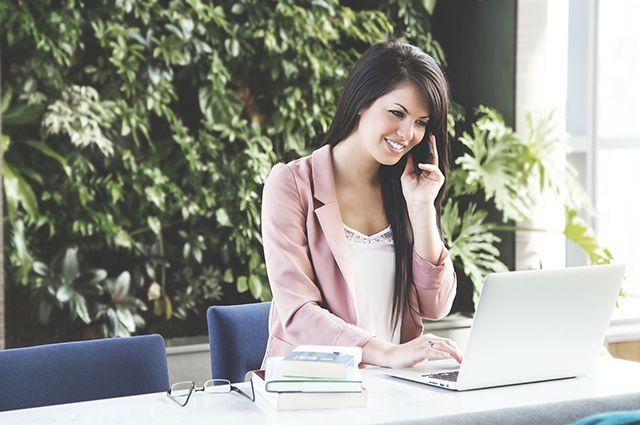 Подать заявление или запрос можно прямо из дома даже в выходной день
