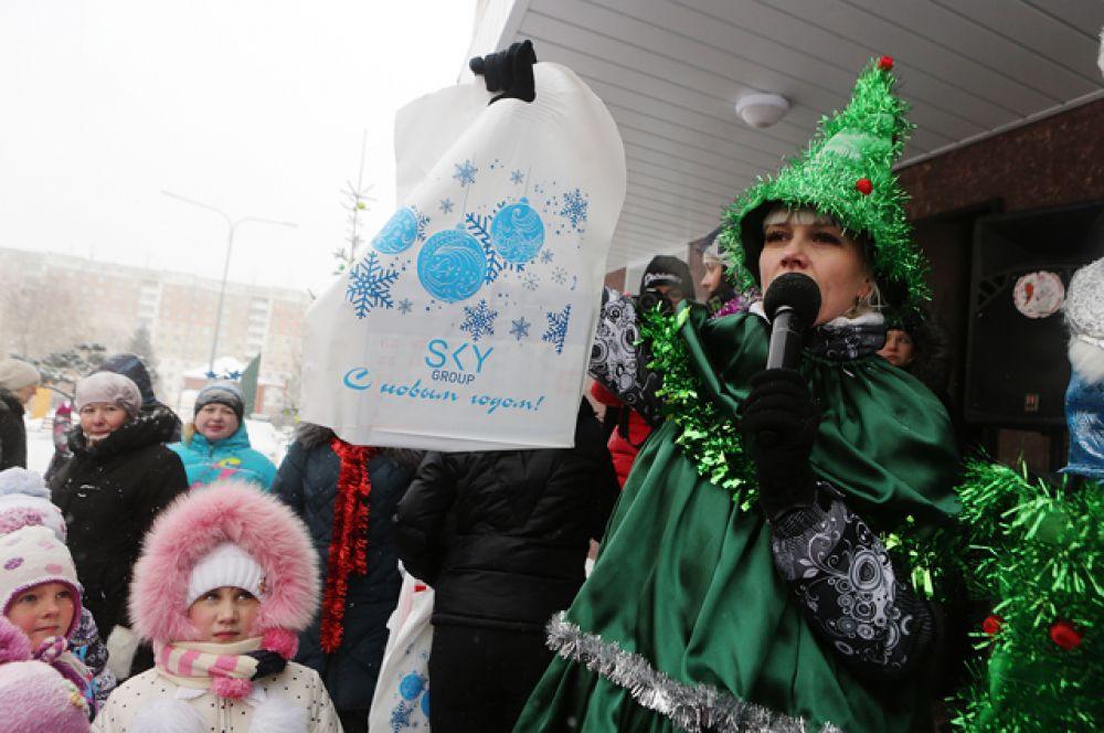 Группа компаний SKY GROUP проводят праздники для жильцов несколько раз в году!
