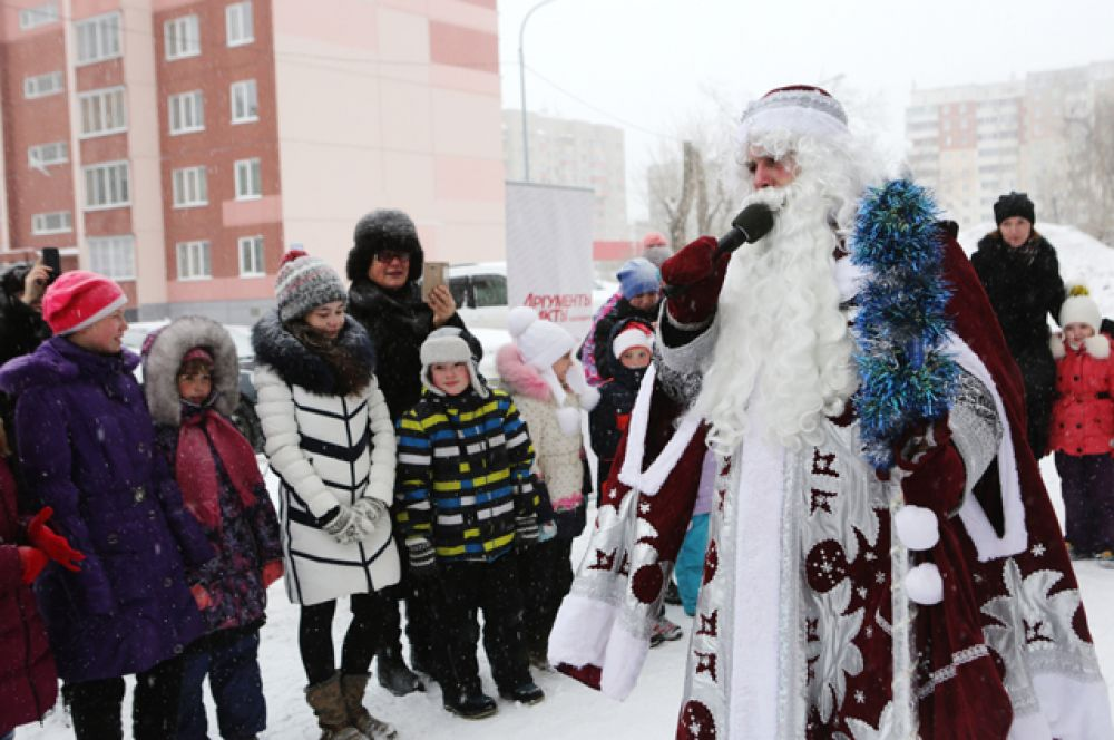 Какой праздник без главного героя Деда Мороза?