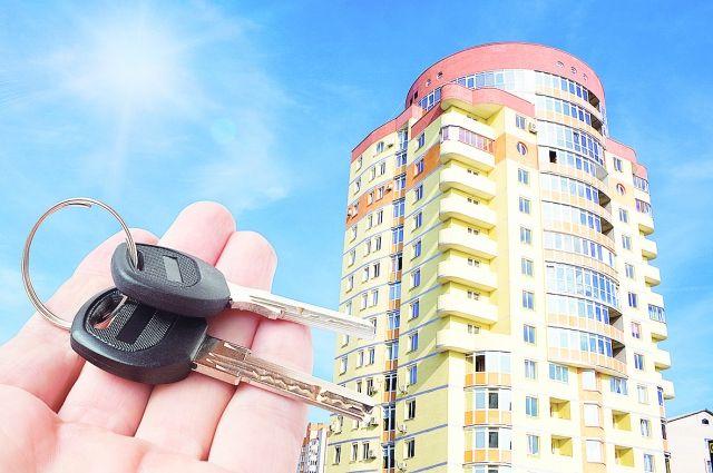В Барнауле сдают двухуровневую квартиру в неблагоприятном районе