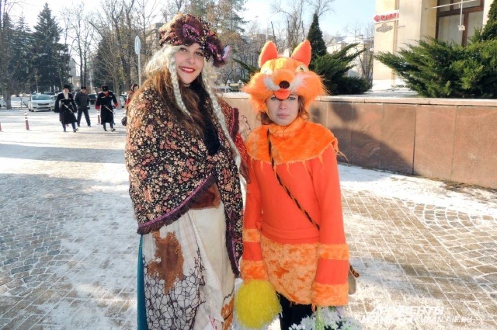 Каких только сказочных костюмов не было у участников праздничного шествия!