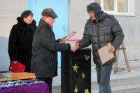 Вручение ключей новосёлам в рабочем посёлке Майский Советско-Гаванского района Хабаровского края.