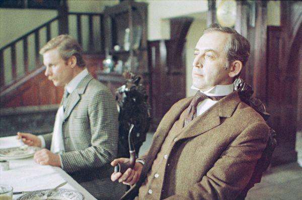 «Приключения Шерлока Холмса и доктора Ватсона» — цикл советских телефильмов 1979-1986 годов по произведениям  Артура Конан Дойла, состоящий из пяти фильмов. В рейтинге лидируют «Охота на тигра» (рейтинг IMDb: 8.60), «Смертельная схватка» (рейтинг IMDb: 8.70), «Знакомство» (рейтинг IMDb: 8.70) и «Собака Баскервилей» (рейтинг IMDb: 8.90).