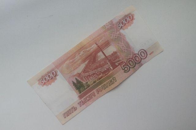 Поддельную купюру достоинством 1 000 руб. изъяли вВологде
