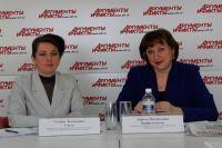 Галина Санду и Лариса Варфоломеева