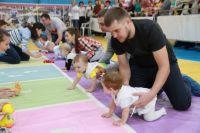 Забег младенцев в Барнауле