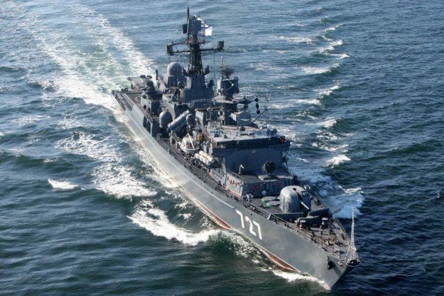 На базу в Балтийск вернулся сторожевой корабль «Ярослав Мудрый».