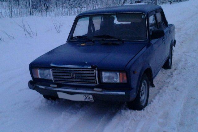 ВУстюженском районе ВАЗ 2107 сбил 12-летнюю девочку