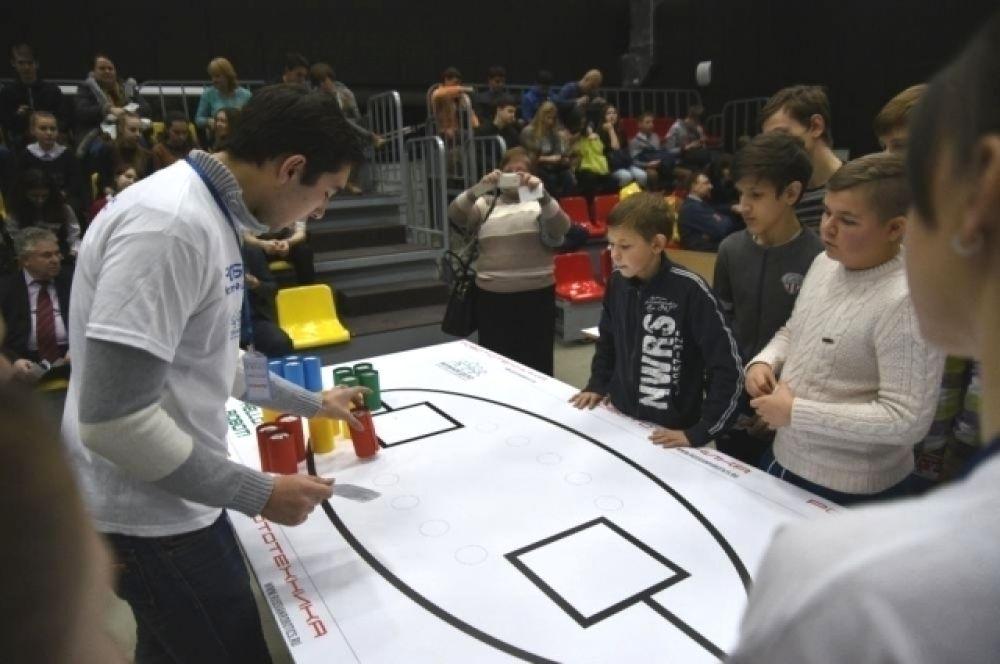 Достижения робототехников участвовали в конурсе по 12-ти номинациям.