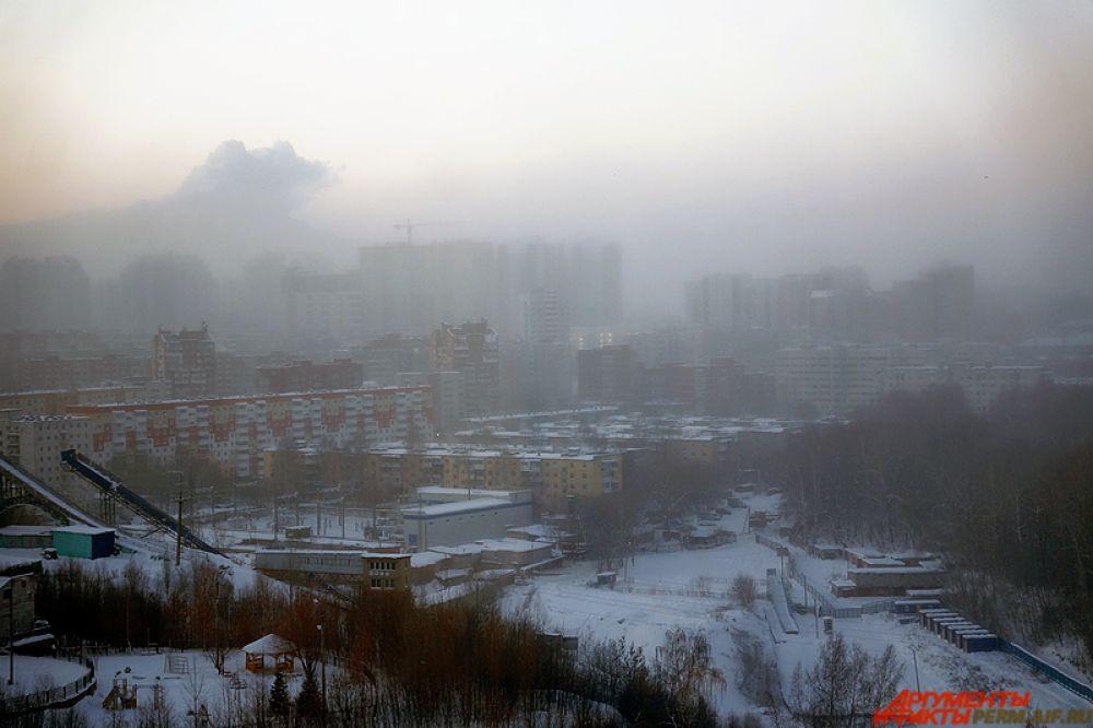 Аномальные холода наступили в Перми в начале этой недели.