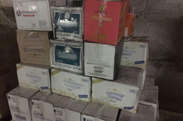ВКиржаче изъяли свыше тысячи бутылок «паленого» алкоголя