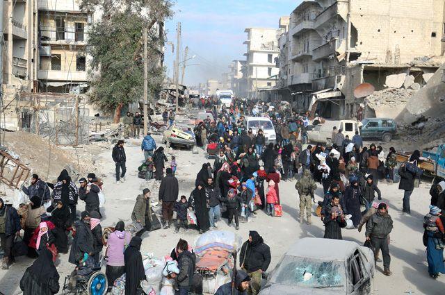 Алеппо на100% перешел под контроль правительственных войск