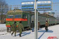 На новогодние праздники меняется расписание пригородных поездов.