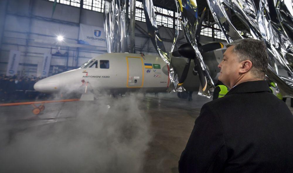 В новом транспортном Ан-132D материалы только украинского и западного производства