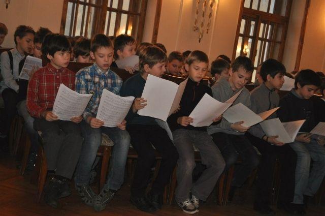 Концерт Детского хора России «Зимняя сказка» состоится в Государственном Кремлевском дворце 27 декабря.
