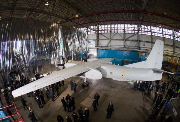 Презентацию самолета показывали в прямом эфире