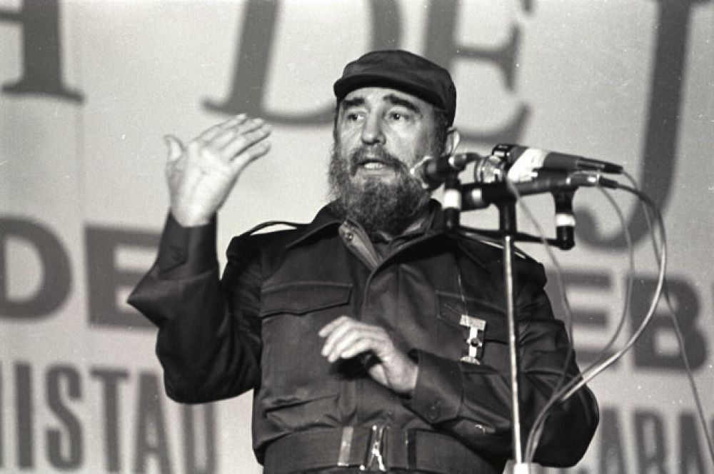 25 ноября кубинский революционер Фидель Кастро. Ему было 90 лет.