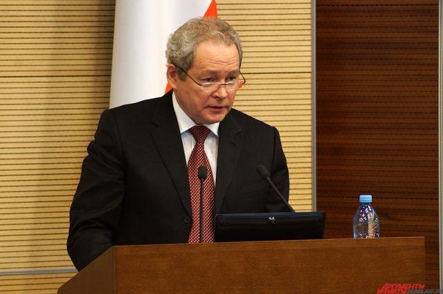 Виктор Басаргин объявил, что готов участвовать ввыборах губернатора Прикамья